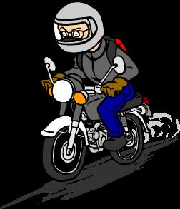 オートバイで車庫証明申請